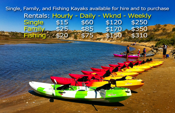 Easy Kayaks Rentals Price List