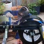 Easy Kayaks trailer fabrication