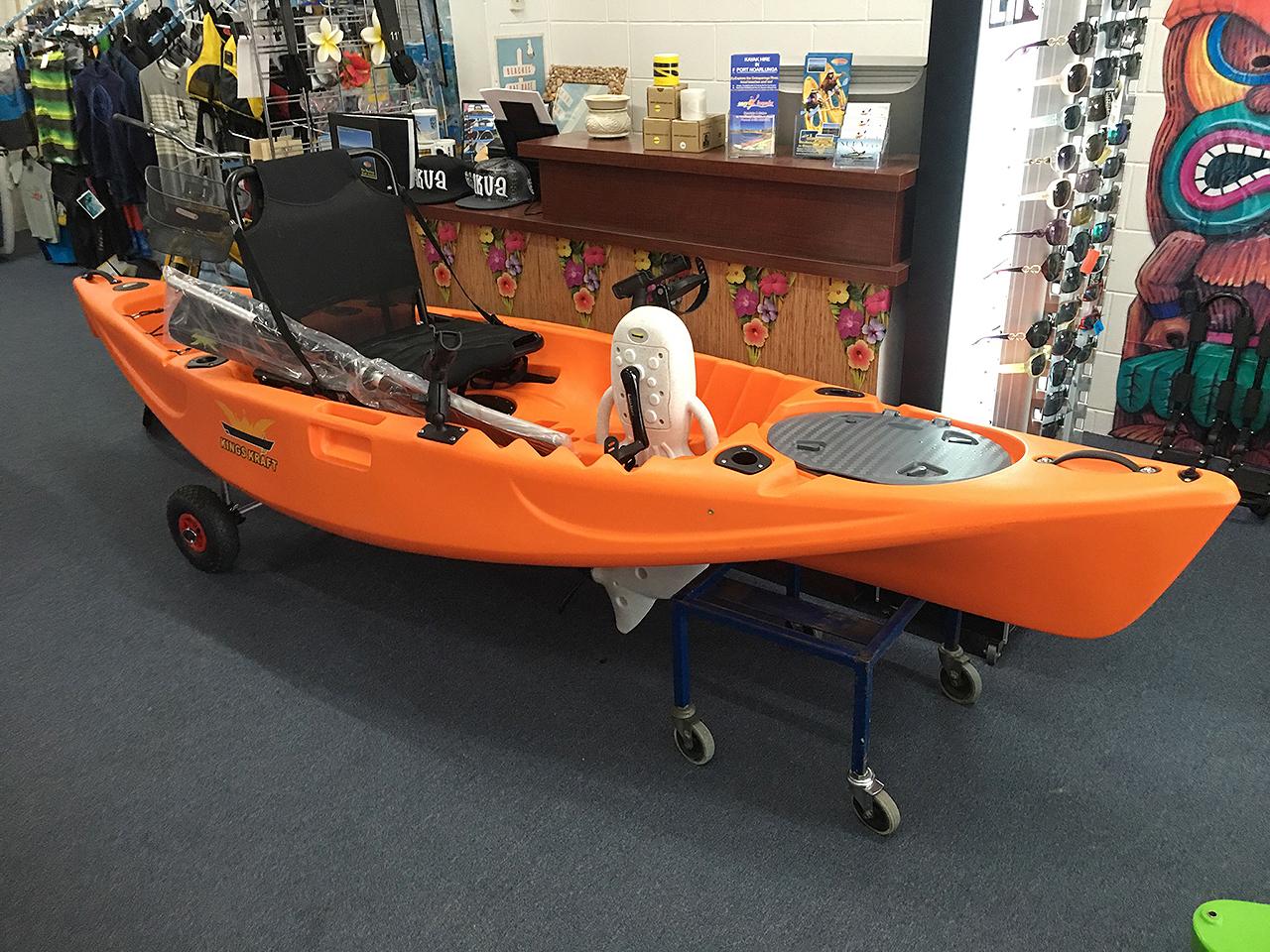 Pedal kayaks easy kayakseasy kayaks for Pedal drive fishing kayak