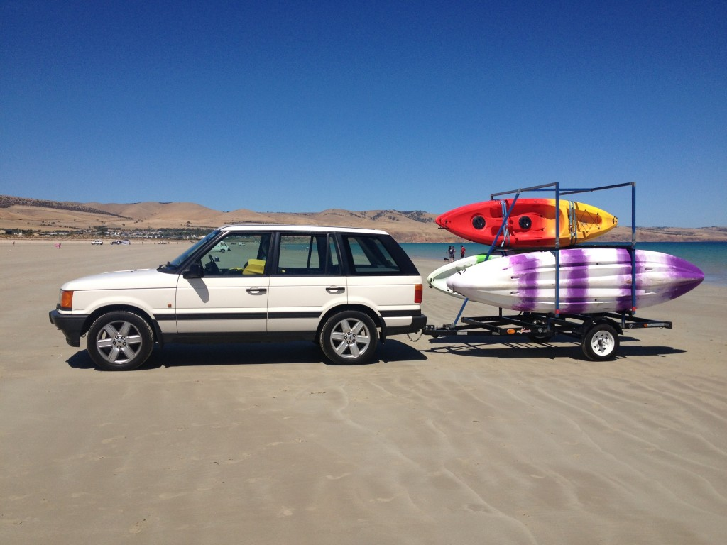 Easy Kayaks Mobile Trailer