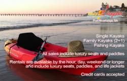 Easy Kayaks Business Card Back