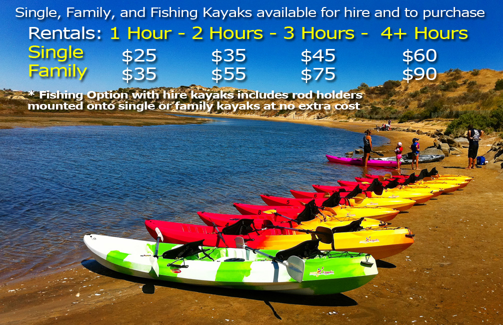 Easy Kayaks Hire Prices