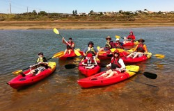 Easy Kayaks finding Workable Solutions Team Building Day Out
