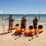 Explore the reef in Port Noarlunga in see-through, glass bottom kayaks